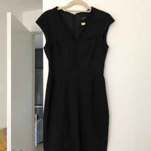 Rachel Roy black shift dress